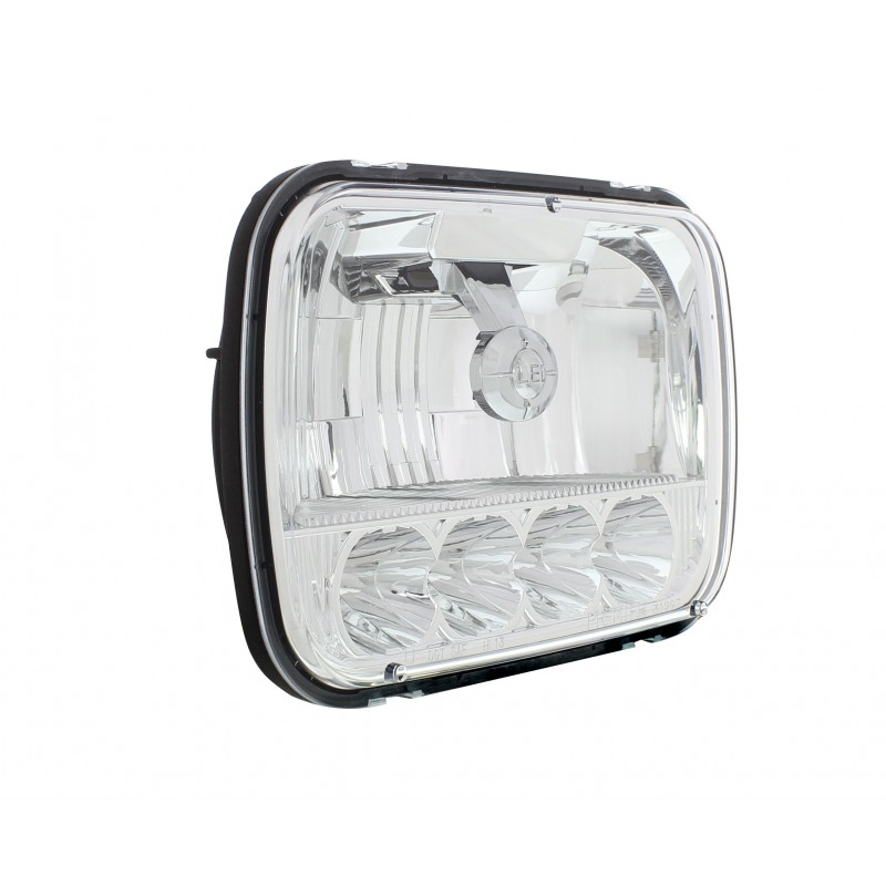"Picture of LED 5"" x 7"" Crystal Headlight - Hi-Lo model 31297"