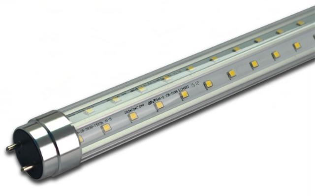 """Picture of 4'  T8  LED tube, """"V"""" model - T8-V-18-4"""