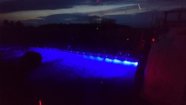 Picture of Blue Spray Boom Light - 27 watt