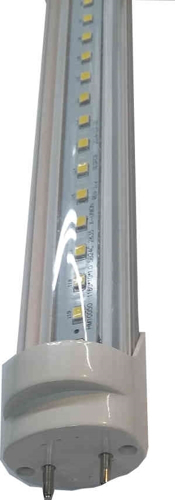 Picture of 4'  T8  LED tube CK-22-4 Rotate,  CLEAR cover