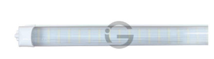 Picture of Integrated T8 Tube - 32W, 5ft - IGLO LED - Case of QTY 20. STRIPED LENS ONLY