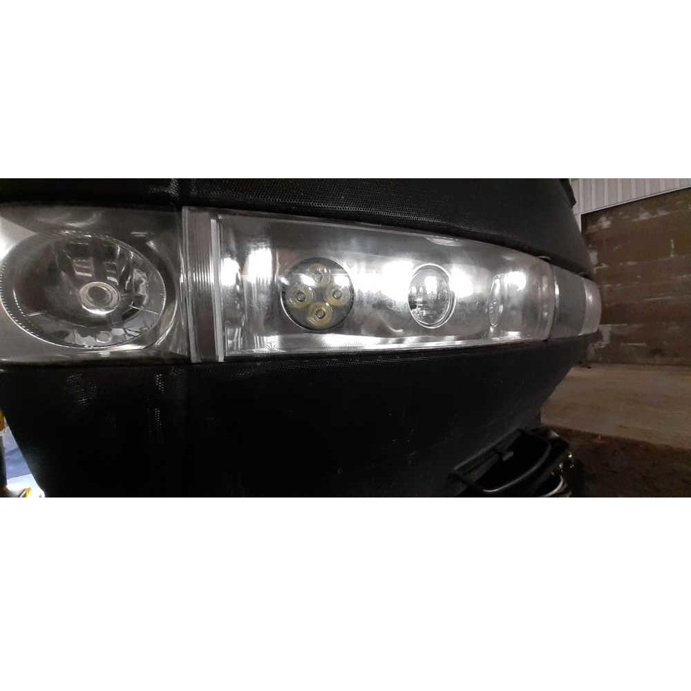 LED-409 installed CIH
