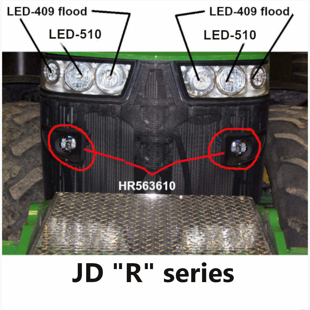 LED-409 placement JD