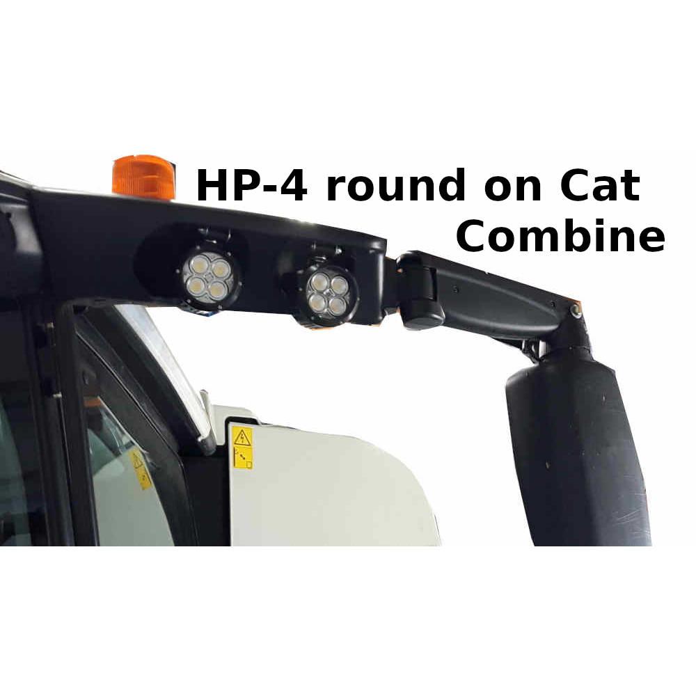 RHP-4 on cat combine