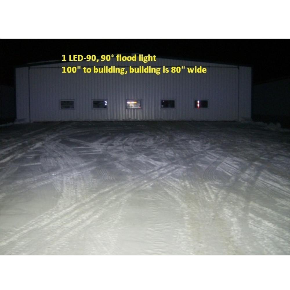 LED-60 flood pattern