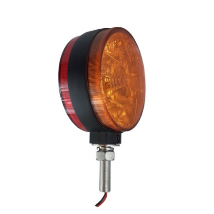 LED-0486, Round Amber / Red LED light